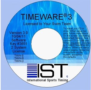 Timeware 3 Replacement CD